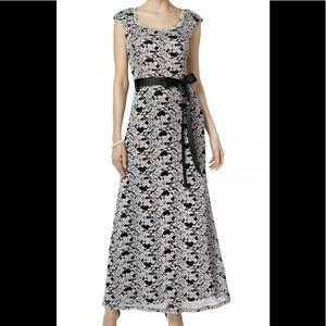 Formal Dress Silver Metallic Gown Sizes 10 12 & 16